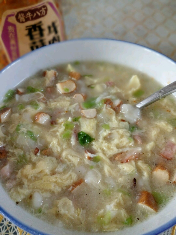 蔬菜疙瘩汤的做法图解1
