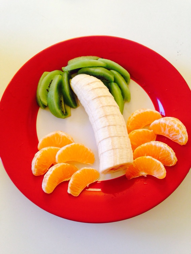 香蕉拼盘做法步骤