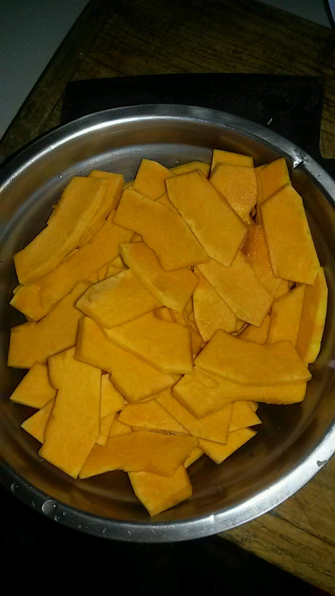 南瓜疙瘩汤的做法图解1