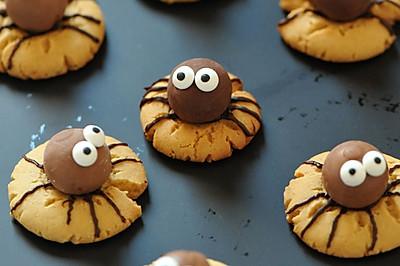 蜘蛛饼干#东菱魔法云面包机#
