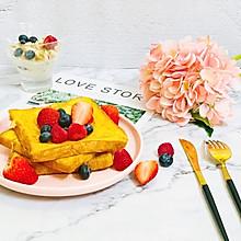 #美食新势力# 浆果法式吐司