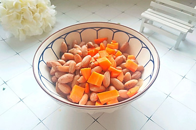 #快手又营养,我家的冬日必备菜品 #胡萝卜拌花生米