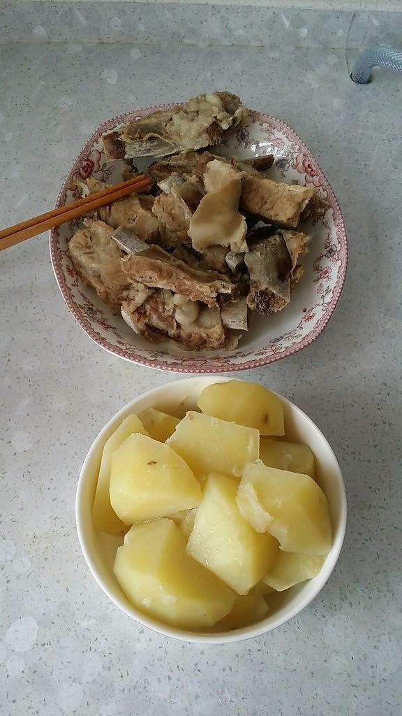 土豆实体炖菜谱的糖醋_排骨_豆果排骨廖做法上海美食店图片