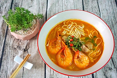 泰美味:泰式冬阴功虾面