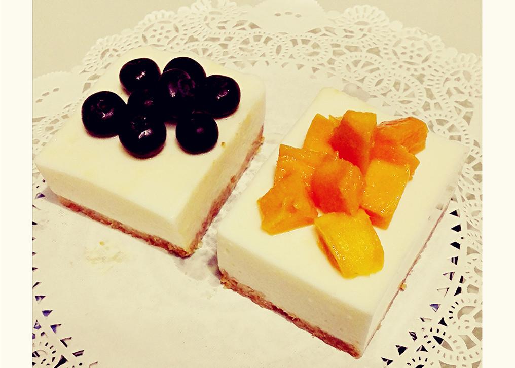 """""""水果""""芝士慕斯蛋糕"""