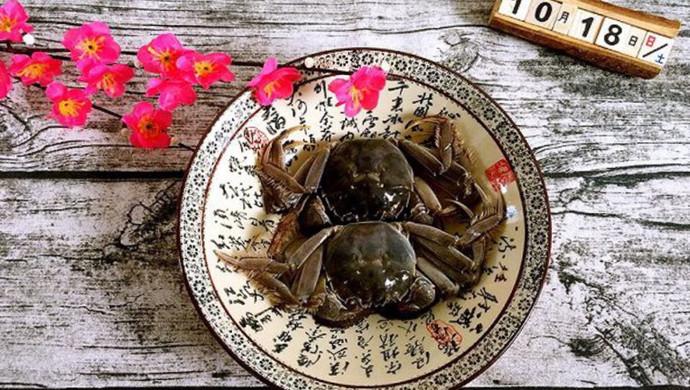 卤视频的蚝油_河蟹_豆果尖椒做法菜谱的做法美食图片