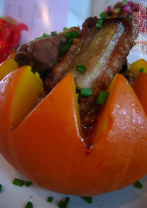 食谱金瓜盅趣味排骨幼儿园图片