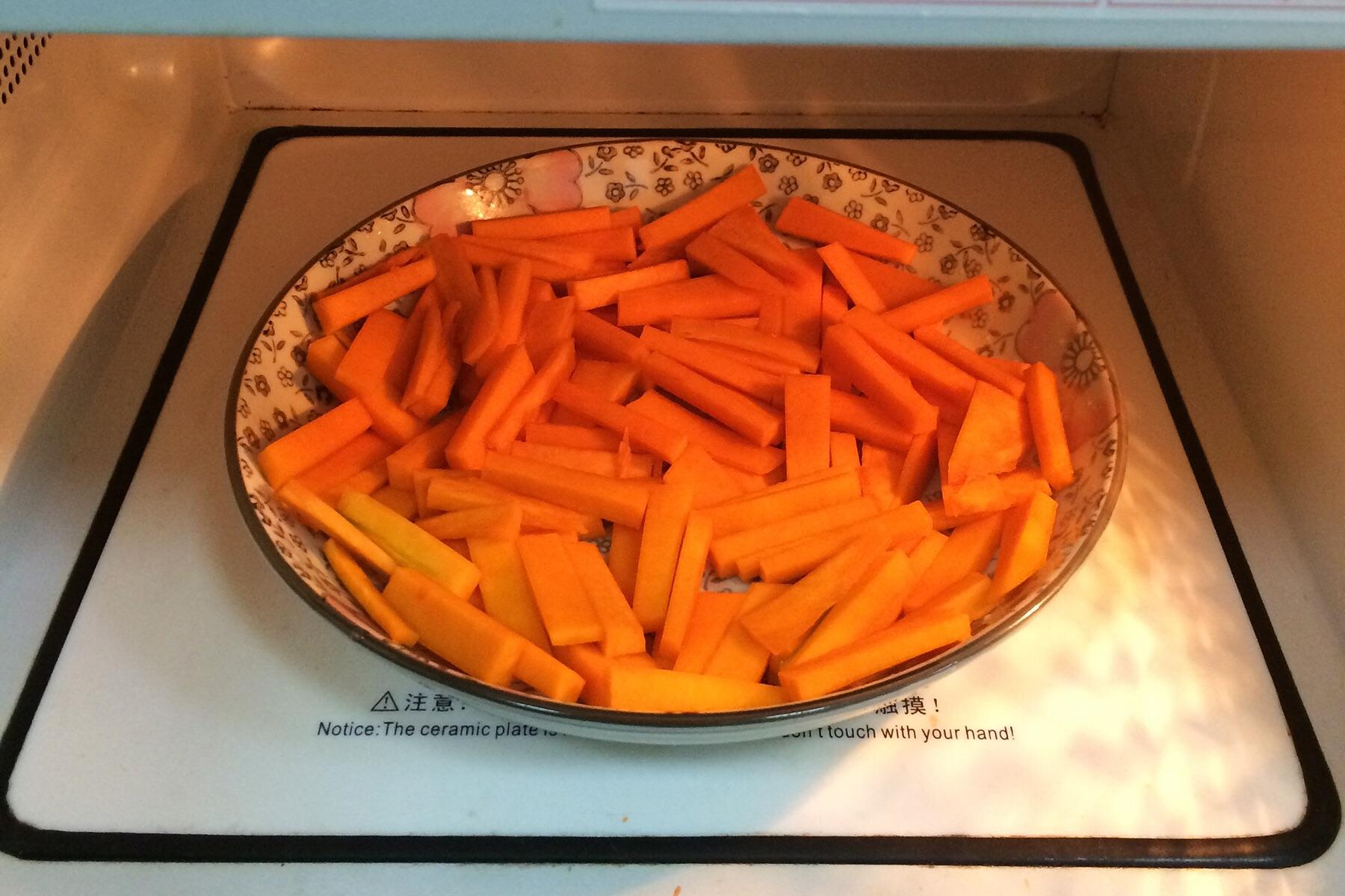 南瓜麻薯软欧包的做法图解1