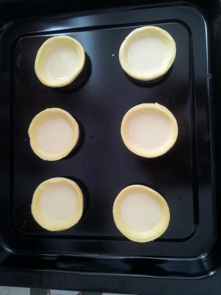 小蛋挞的做法步骤 2.