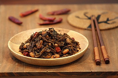 梅菜酱黄豆
