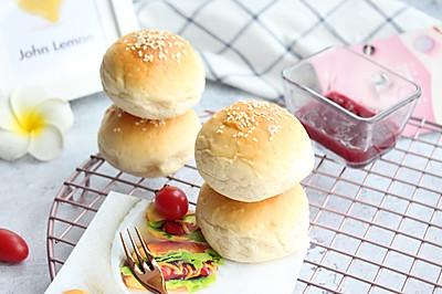 【经典全麦汉堡胚】 】#快手又营养,我家的冬日必备菜品#