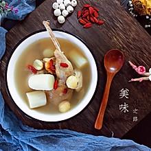清心润肺百合菜谱鸡蛋汤#硬核鹧鸪制作人#红烧肉卤莲子图片
