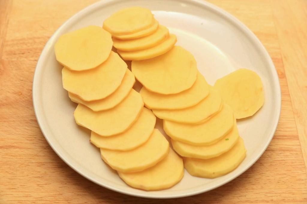 黄金土豆夹的做法图解3