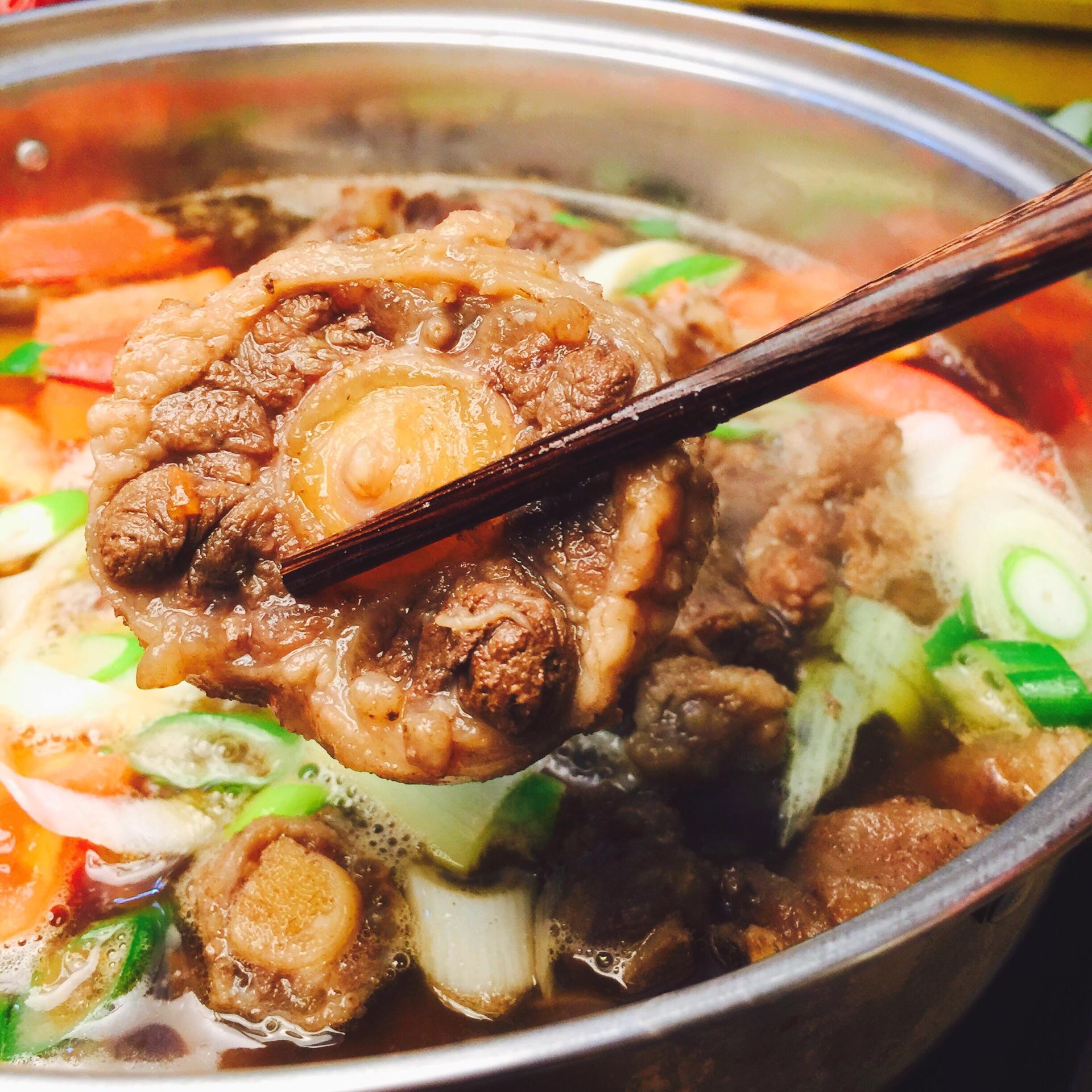美食牛尾菜谱冬天里的一把火的火锅_就是_豆果做法买的新鲜的基围虾当天不吃怎么v美食图片