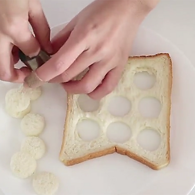 小仓鼠吐司4款哈姆雷特萌化你的早餐桌的做法减脂晚上可以吃蛋清吗图片