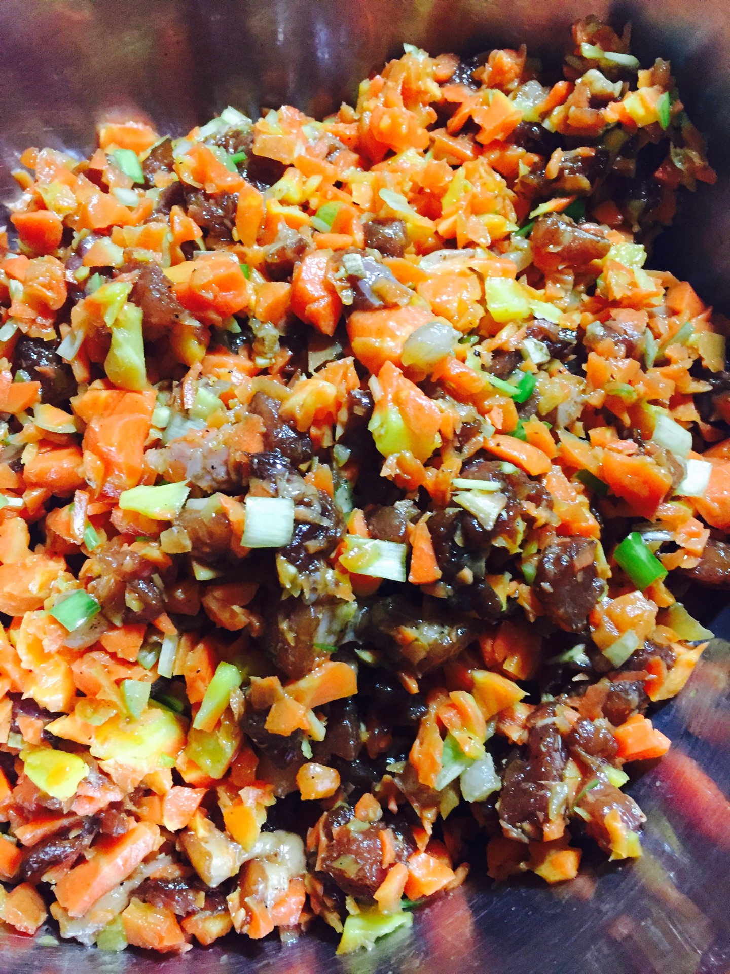 胡萝卜肉蒸包的做法图解8