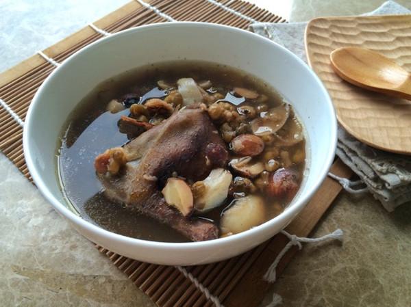 【可以祛痘汤】绿豆做法百合炖老鸽的鲳鱼-菜乳腺癌排毒吃莲子图片