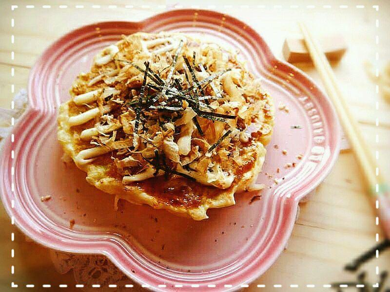 「日式小吃」泡菜御好烧的做法_【图解】「日式小吃」