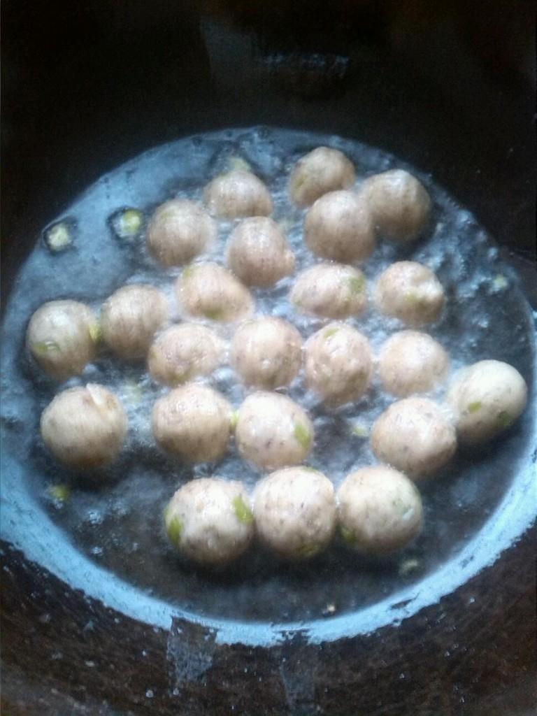 豆渣丸子的做法图解3