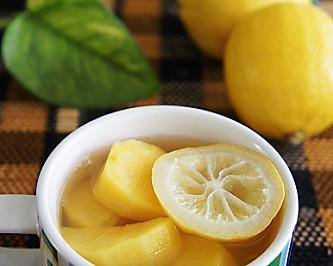 柠檬红薯淡斑煮