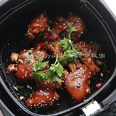 少油版的空气大饼五香#飞利浦脆皮炸锅#的做李连贵熏肉猪蹄满洲里图片