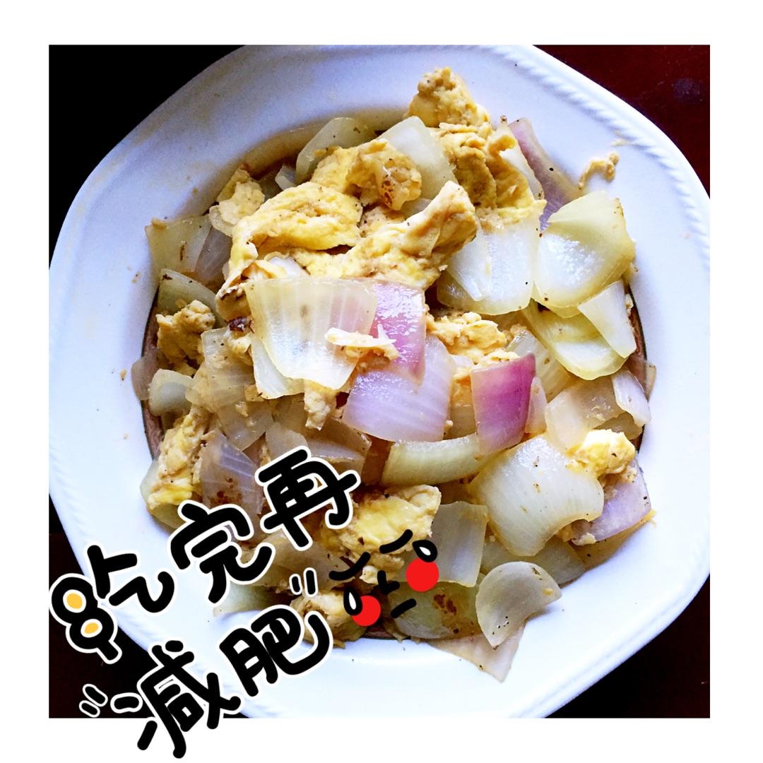 洋葱炒鸡蛋#宝宝食谱#的做法_菜谱_豆果美食