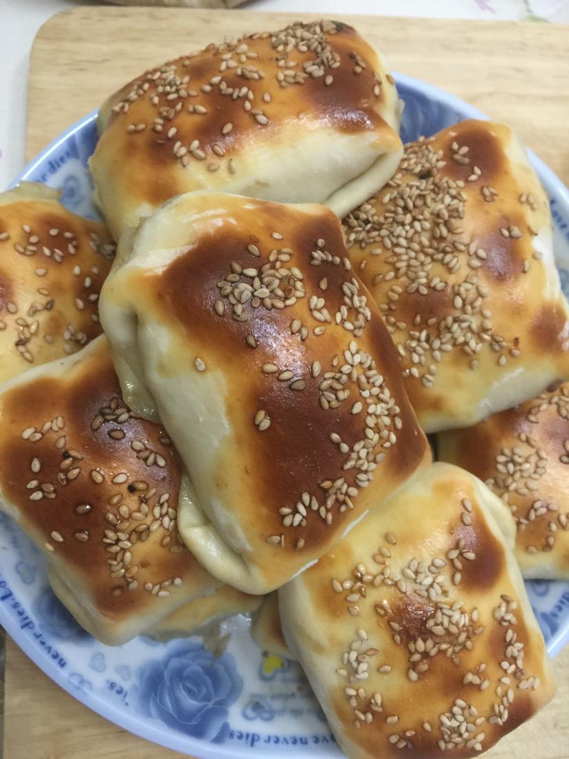 新疆风味羊肉烤包子