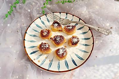 #快手又营养,我家的冬日必备菜品#甜蜜的棉花糖烤香蕉