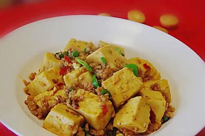 下饭菜--肉末烧豆腐