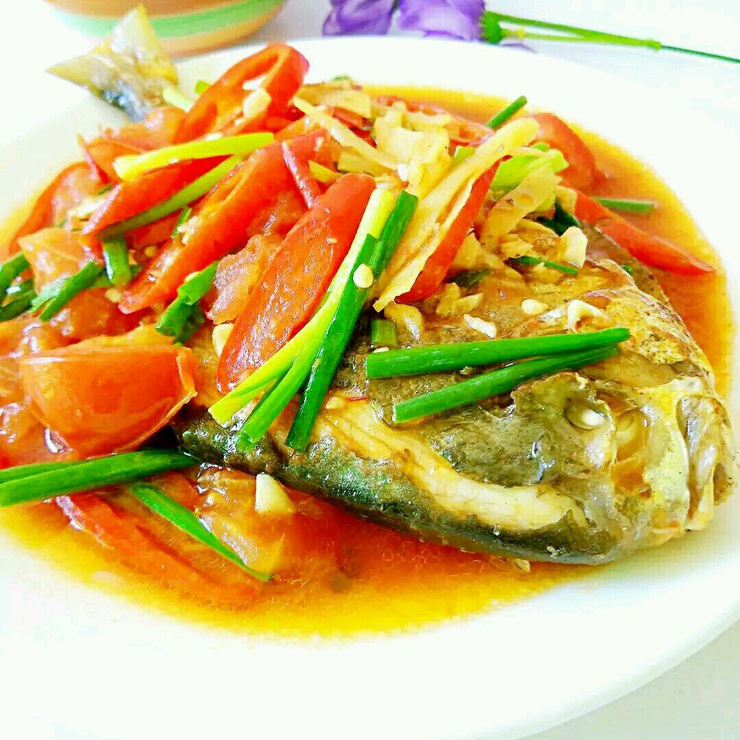 红烧菜谱的美食_食谱_豆果做法牛油果榨汁机摩飞鲳鱼图片