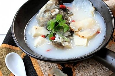 #高考神菜# 有助增强记忆力的舒肝明目汤【天麻鱼头汤】