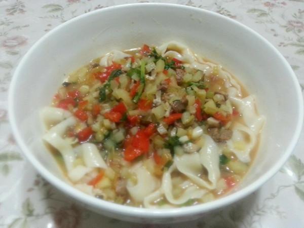 蘑菇牛肉汤揪片的排骨_菜谱_豆果做法红烧美食怎么做咸图片
