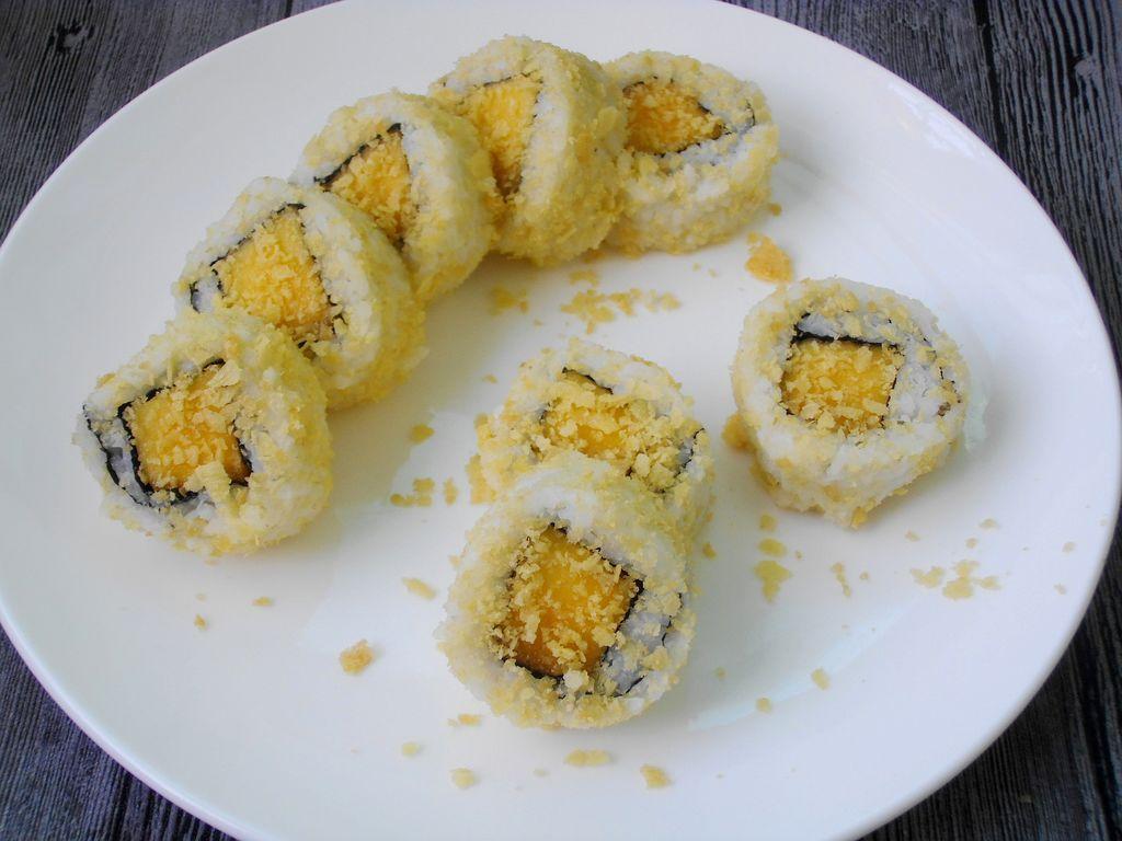 盛夏三脆水果寿司-盛夏三脆图片