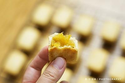 自己在家也可以做出美味的凤梨酥~