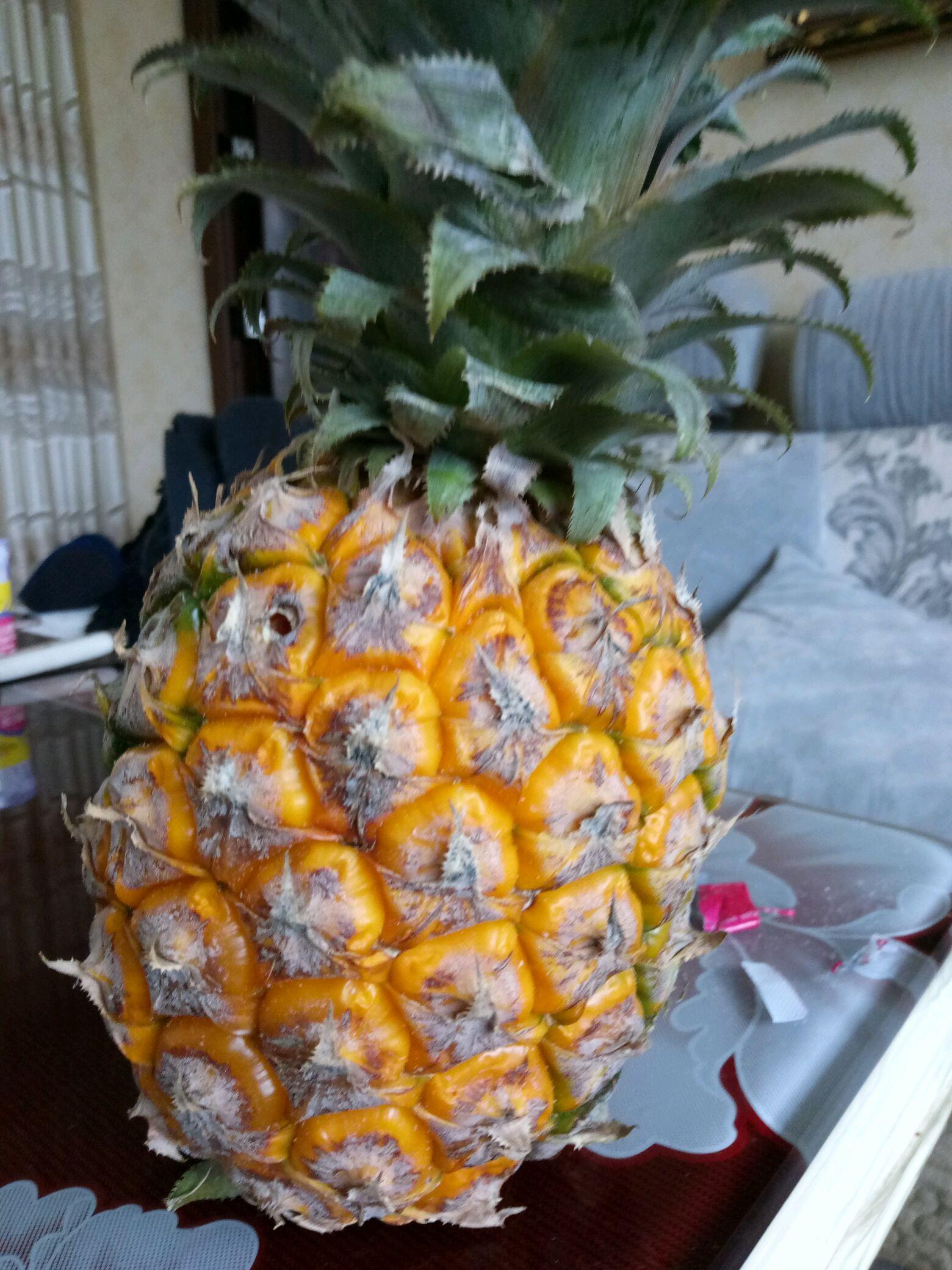 冰糖菠萝的做法步骤