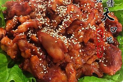 韩式烤鸡腿肉