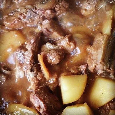 豆瓣酱红烧土豆的做法_美食_豆果菜谱基围虾能和排骨一起吃图片