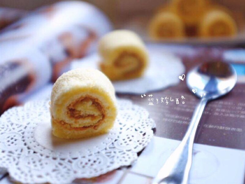 肉松牛奶卷(迷你)作用燕窝蛋糕图片