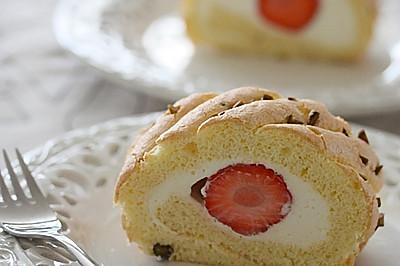 乐葵食谱:分蛋海绵蛋糕卷
