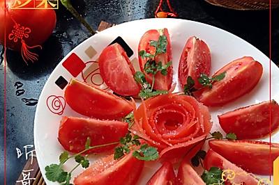 素食之——凉拌西红柿
