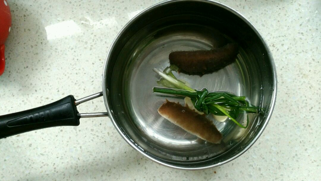 海参南瓜燕麦粥的做法_【图解】海参南瓜燕麦粥怎么做