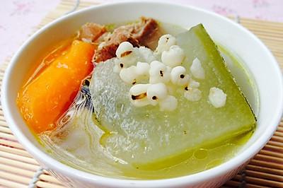 夏季消暑必备--健脾胃祛湿的猪骨冬瓜汤