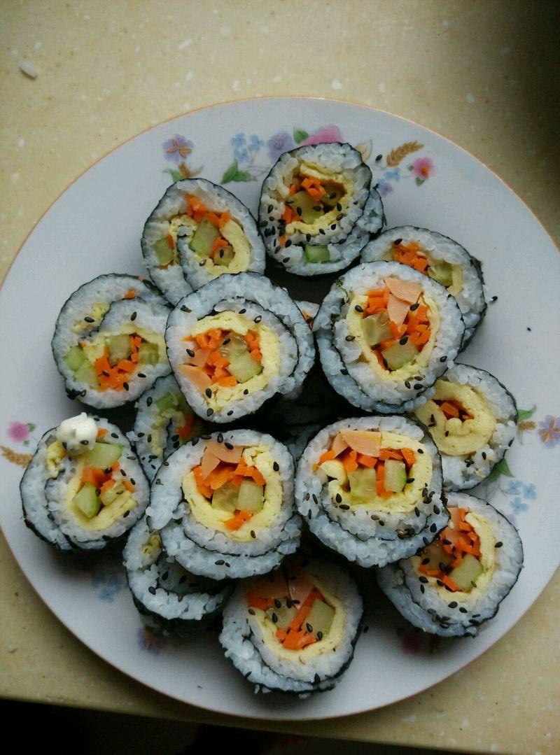 紫菜包饭的做法_【图解】紫菜包饭怎么做如何做好吃