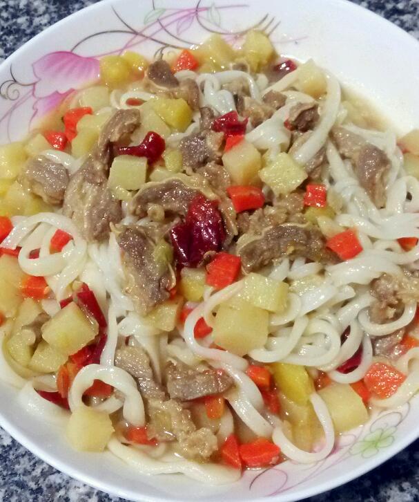 新疆家常拌面的做法_菜谱_豆果美食