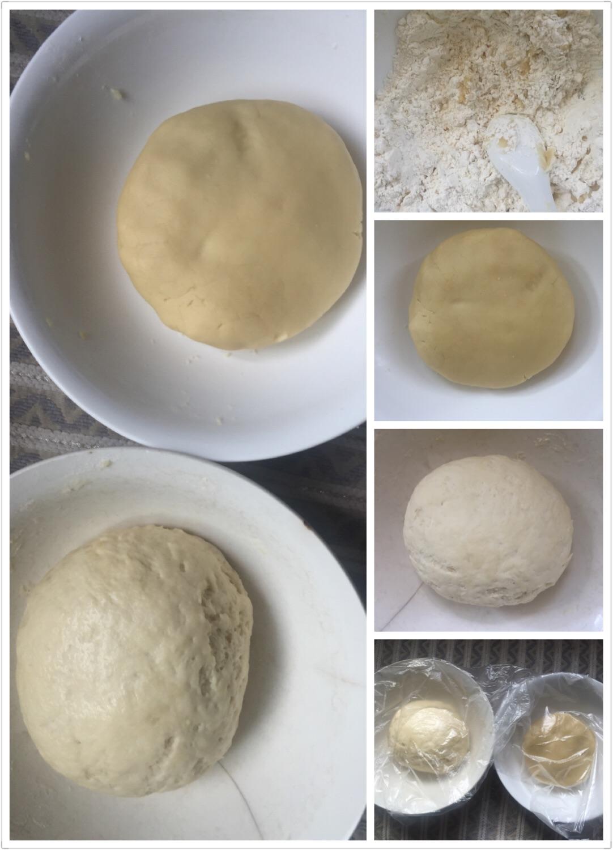 手工红豆脆皮月饼