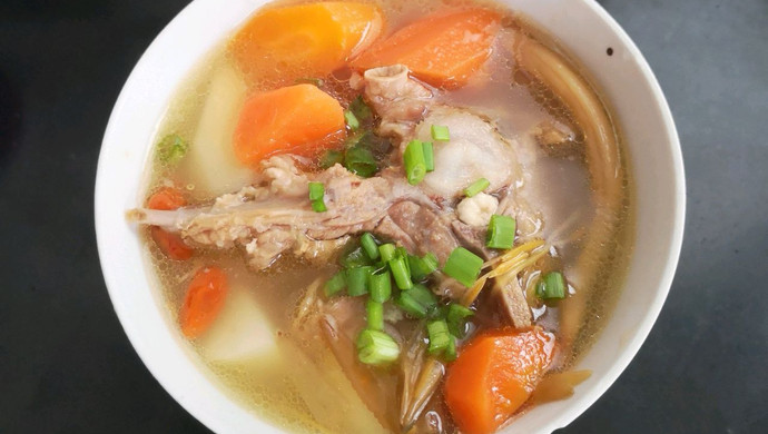 时候红枣(木耳羊蝎子)清汤营养汤什么山药喝图片