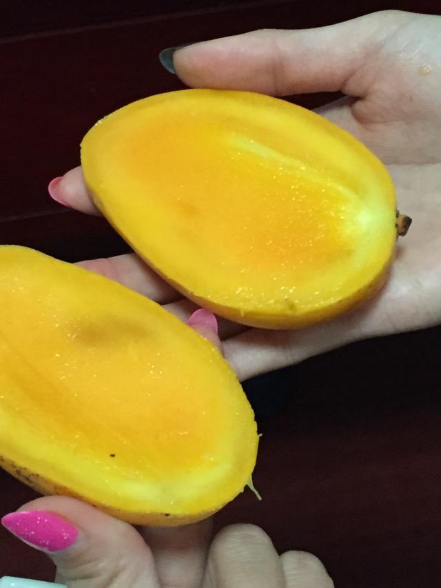 芒果(切法