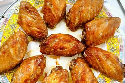 蒜香烤翅(微波炉版)