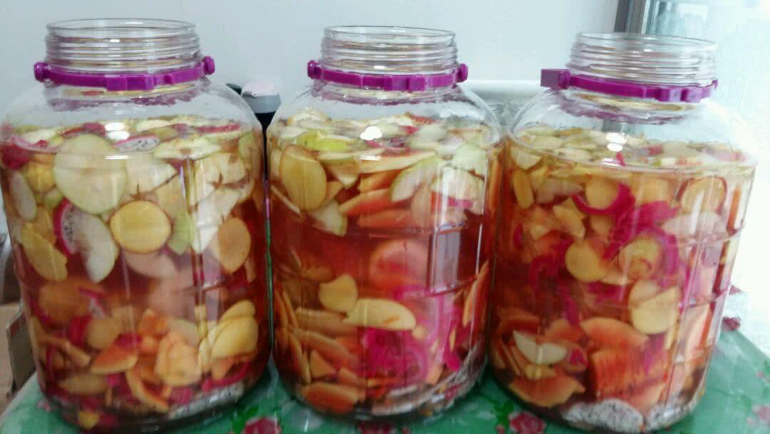 自制综合水果酵素