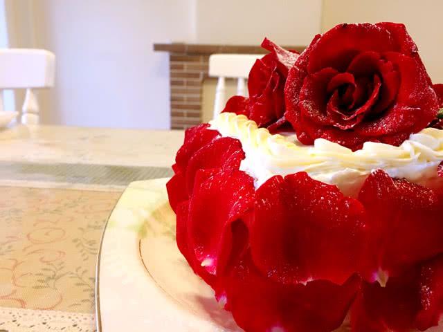 玫瑰之约蛋糕的做法图解6